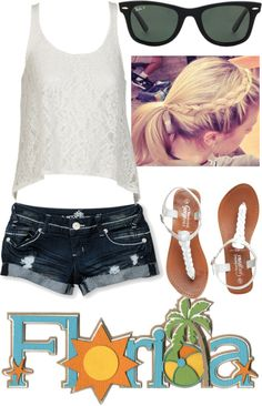 """""""In Florida right now"""" by deeisme ❤ liked on Polyvore"""
