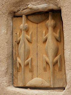 Dogon window, Mali