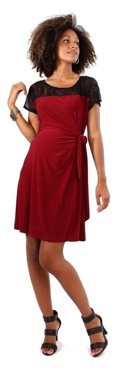 d&a MLBD the blocked adjustable dress   Japanese Weekend Nursing and Maternity Clothing
