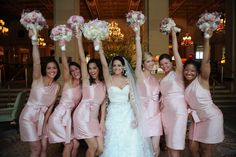 10 Must-Have Wedding Photos With The Girls -- The Cheer