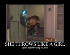 A funny Coraline meme. Yeah, you'd better run, Wybie!!