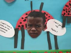 Grouchy Ladybug... Have your students make grouchy faces and their own ladybug after reading this book.  Could use when teaching the use of and exclamation point!