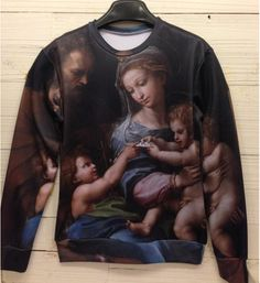 """""""Holyfamily"""" 3D Sweater from VanityTreasures on Storenvy"""
