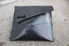 recycled inner tube clutch bag from rosenborgsmykker.dk