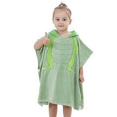 Itopfox Kids Lovely Animal Hooded Bath Robe Cloak Soft Cotton Bath Towel  Baby Cartoon 6c4563315