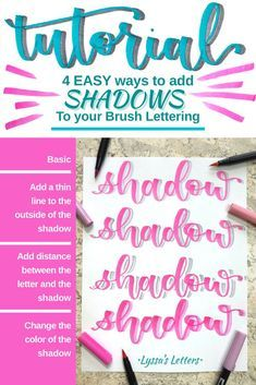 Learn brush calligraphy with these free practice worksheets. A fun activity for your St. Calligraphy Tutorial, Hand Lettering Tutorial, Calligraphy Doodles, Learn Calligraphy, Islamic Calligraphy, Shadowing Letters, Drawing Letters, Lettering Styles, Brush Lettering