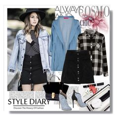 """""""Style diary"""" by annabelle2016 ❤ liked on Polyvore featuring Boohoo, Rails and Betty Blue"""