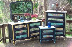 Dresser Set by junkdrawerdivas on Etsy, $995.00