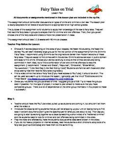 english worksheet mock trial outline background stories