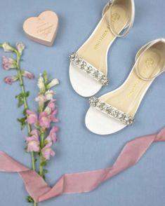 0b53f1cdaa9 Wedding Flats Rhinestone Bridal Flat - Finn Ivory. Wedding Flats Rhinestone  Bridal Flat - Finn Ivory - Kate Whitcomb Shoes