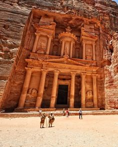 When visiting one of the Wonders of the World its only fitting to tour it in style. For example? A horseback ride through the royal tombs of Petra  a #UNESCO World Heritage Site. Head over to TripAdvisor to book your tour today!