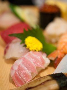 Edomae Nigiri Sushi at Musashi, Fukuoka Japan