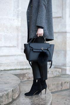 Céline belt bag and Andiata pompom / Anna Sofia - Style Plaza