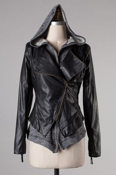 Baby It's Cold Leather Jacket