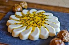 Lunchbox: Panacota vanilla and passion fruit