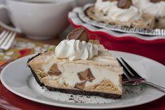 Secret Peanut Butter Cup Pie   MrFood.com