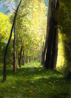 Lane of Trees by Odilon Redon