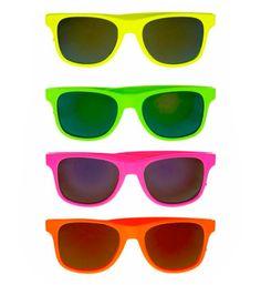 Pichardo Disfraces: Complementos / Gafas / 11 Gafas Fluorescentes