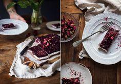 Nepečený tříbarevný bezlepkový dort | P&G foodies Healthy Cooking, Nutella, Tiramisu, Camembert Cheese, Foodies, Low Carb, Sweet, Ethnic Recipes, Blog