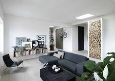 Apartment in Copenhagen by Vipp #homeadore #livingroom #interior #interiors #interiordesign #interiordesigns #residence #home #casa #property #flat #apartment #loft #copenhagen #denmark #vipp by homeadore