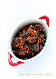 http://almostbourdain.blogspot.com/2011/05/    babi-kecap-slow-braised-pork-with by Almost Bourdain, via Flickr