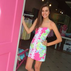 Pink Bee | Lilly Pulitzer | Summer 2014 | Greenville, South Carolina