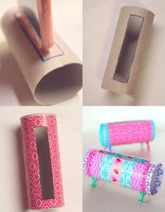 So going to try this Diy Home Crafts, Diy Arts And Crafts, Crafts For Teens, Creative Crafts, Easy Crafts, Toilet Paper Roll Crafts, Paper Crafts, Diy Para A Casa, Diy Phone Stand