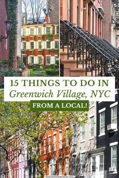 Things to Do in Greenwich Village NYC | Planning what to do in Greenwich Village NYC? This guide is written by a local with tips about favorite restaurants, shops, where to have brunch, eat NYC pizza, see neighborhood favorites like the Friends or Carrie Bradshaw Apartments, as well as what to do at night in the Village. #travel #NYC Usa Travel Guide, Travel Usa, Travel Guides, Vacation Trips, Dream Vacations, York Things To Do, Best Travel Websites, Us Travel Destinations, New York City Travel