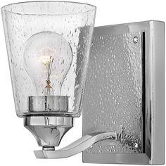 Hinkley Lighting 51820PN Jackson Bath Sconce Hinkley Lighting, Barn Lighting, Vanity Lighting, Wall Sconce Lighting, Bathroom Wall Sconces, Lighting Online, Bath Vanities, Modern Rustic Interiors, Interior Walls