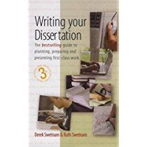 Writing Your Dissertation: The bestselling guide to planning, preparing and presenting first-class work (The How to Series) Research Methods, Research Projects, Family Therapy, First Class, Book Format, This Book, Stress, Language, Author