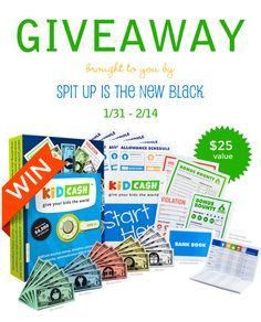 KidCash Giveaway | E