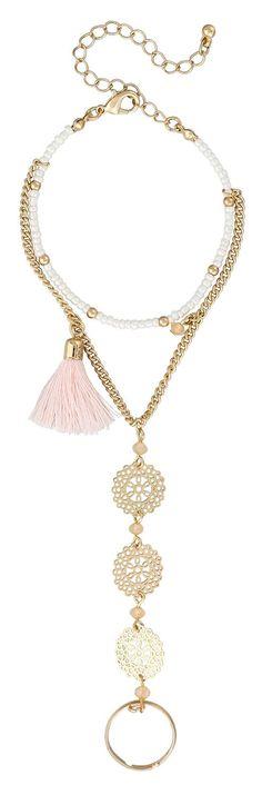 Bracelet - Rosy Tassel
