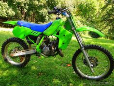 1989 Kawasaki KX 80 motorcycle photo