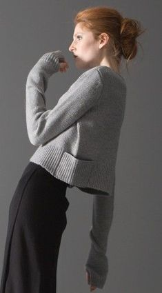TF Knitwear - note shoulder construction.