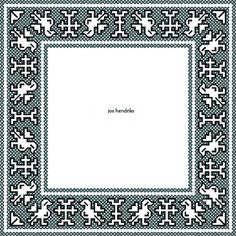 Assisi borduurontwerp eendjes 11