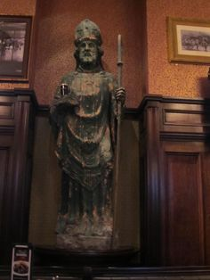 """St. Patrick inside Re Ra Irish Pub in the shops at Mandalay Bay.  The BEST """"Fish and Chips"""", beer beer and more beer and Irish music...a fantastic place...you would think you were in IRELAND!!  Never miss going here when in Vegas!!"""