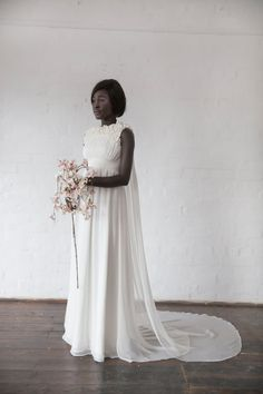 Shiba-sakura inspired wedding dress