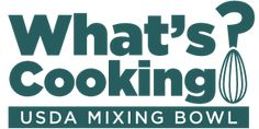 Easy Economical Veggie Fried Rice What's Cooking? USDA Mixing Bowl logo