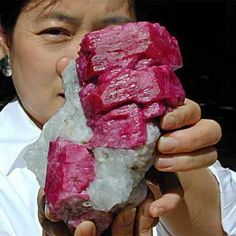 Big Mama's in the house. This extraordinary Mogok (Burma) ruby crystal is among the finest specimens ever unearthed.
