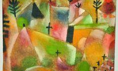 Paul Klee Friedhof, 1920, 79 Ölfarbe und Feder auf Leinen, 17 x 25,5 cm Privatbesitz Schweiz, Depositum im Zentrum Paul Klee, Bern