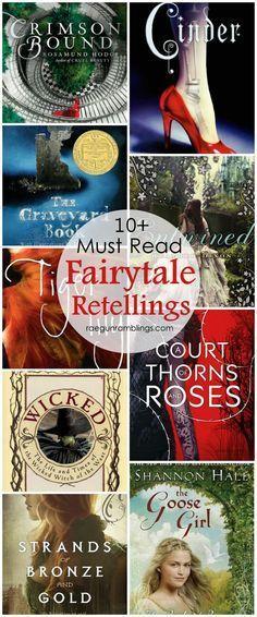 Fabulous list of Fairytale retellings. Most are YA books
