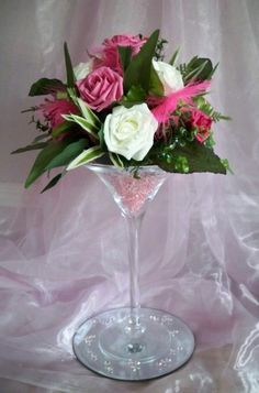 FOR HIRE, Martini Glass Vase Centrepiece Wedguardadoding Party Flowers Table Decoration Martini Glass Centerpiece, Glass Centerpieces, Wedding Centerpieces, Wedding Decorations, Glass Vase, Centrepieces, Table Wedding, Flower Table Decorations, Table Flowers