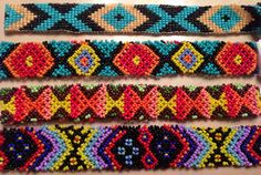 New tribal aztec beaded headbands Facebook.com/Lety.Rangel