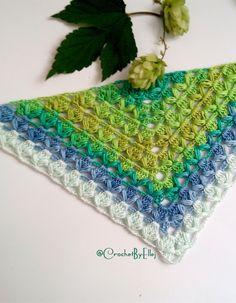 Crochet shawl «Hop» • Turkish pattern