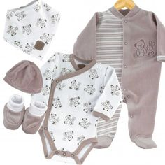 Conjunto recién nacido para la maternidad #conjunto #bebe #maternidad #pijama…