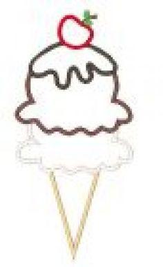 All Designs :: 2015 Design Sale :: Ice Cream Applique