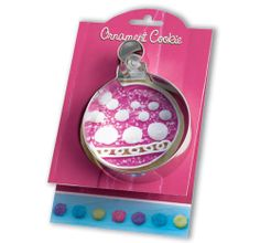 Ornament Cookie Cutter  5  Tin Cookie Cutters & by swigshoppe, $3.99