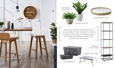 Marble Tray, Greenery, Shelves, Interior Design, Table, Furniture, Home Decor, Nest Design, Shelving