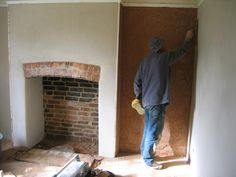 Woodlouse Conservation are experts in the restoration & renovation of inglenook & traditional fireplaces. Based near Taunton cover Somerset, Devon & Dorset Exposed Brick Fireplaces, Inglenook Fireplace, Victorian Fireplace, Open Fireplace, Fireplace Design, Cottage Fireplace, Devon, Brick Arch, Chimney Breast