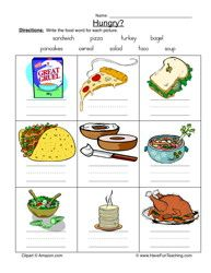 Which Foods are Healthy Worksheet | Worksheets, Montessori and ...
